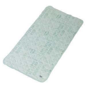 ソフトクール 接触冷感 ベッドパッド 熱中症対策 ひんやり寝具 布団カバー ベッドカバー 涼感 快適 不眠症 不眠対策 安眠 GLS-387|lily-birch|08