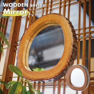 WOODEN series 壁掛けミラー Sサイズ 天然木 ボックスミラー ミラー 壁掛け 鏡 アンティーク ミラー 壁掛けミラー おしゃれ 新生活 引越し MR-731|lily-birch