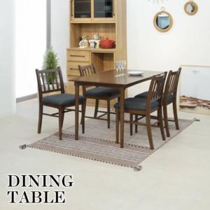 天然木 ダイニングテーブル 120cm テーブル ラバーウッド リビング フロアテーブル おしゃれモダン ナチュラル シンプル 北欧 西海岸 新生活 NET-831TBR|lily-birch