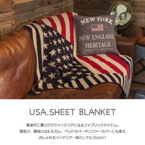 USA シートブランケット 国旗 パッチワーク ベッドカバー アメリカ 130×150cm TTZ-205 TTZ-206|lily-birch|02