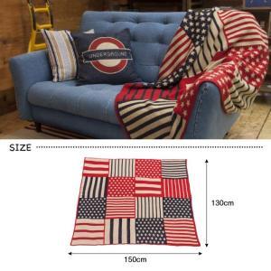 USA シートブランケット 国旗 パッチワーク ベッドカバー アメリカ 130×150cm TTZ-205 TTZ-206|lily-birch|03