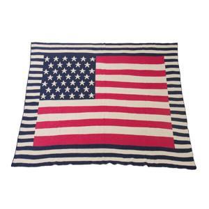 USA シートブランケット 国旗 パッチワーク ベッドカバー アメリカ 130×150cm TTZ-205 TTZ-206|lily-birch|05