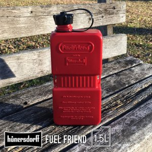 HUNERSDORFF ヒューナースドルフ ポリタンク 1.5L フューエルフレンド キャニスター ポリタンク 防災グッズ ウォータータンク ガーデニング アウトドア BBQ|lily-birch