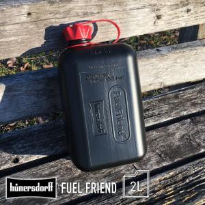 HUNERSDORFF ヒューナースドルフ ポリタンク 2L フューエルフレンド キャニスター ポリタンク 防災グッズ ウォータータンク ガーデニング アウトドア BBQ|lily-birch