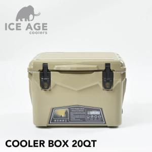 ICE AGE coolers アイスエイジ クーラーボックス 20QT 18.9L ハイエンドクーラーボックス クーラーBOX 保冷 保冷力 大容量 アウトドア レジャー おしゃれ 男前|lily-birch