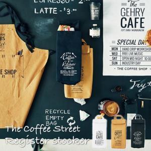 レジ袋ストッカー The Coffee Street ザ・コーヒーストリート カフェ風 レジ袋収納 レジ袋入れ 便利道具 キッチン インテリア おしゃれ 便利グッズ DS-1536|lily-birch
