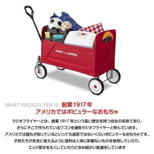 RADIO FLYER ラジオフライヤー フォールドワゴン #3956A カート ワゴン 収納 台車 子供用 おもちゃ入れ 片付け アメリカ雑貨 #3956A EZ Fold Wagon lily-birch 02