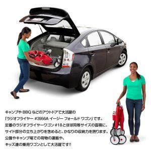 RADIO FLYER ラジオフライヤー フォールドワゴン #3956A カート ワゴン 収納 台車 子供用 おもちゃ入れ 片付け アメリカ雑貨 #3956A EZ Fold Wagon lily-birch 04