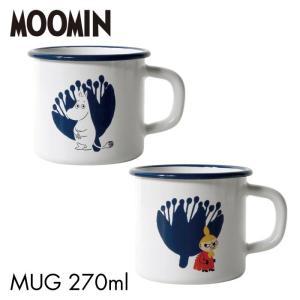 MOOMIN ムーミン エナメル マグカップ ムーミン ミィ 可愛い おしゃれ ムーミン キャラクター コップ マグ カップ ホーロー テーブルウェア Honey Ware MTA-7MG lily-birch