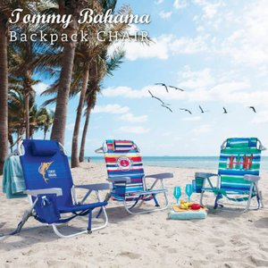 Tommy Bahama トミーバハマ バックパックチェア 5段階 リクライニング チェア アウトドア キャンプ BBQ 海 西海岸 湘南 バックパック USA アメリカ直輸入|lily-birch