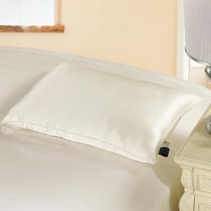 LilySilk シルク枕 表地:シルク シングル 35x55cm,真綿:0.6kg まくら ピロー...