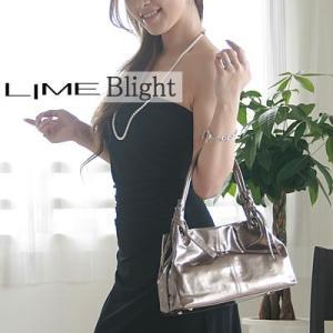 ライム☆エナメルバッグ(トートバッグ)ブライトL1620ガンメタ|lime-japan