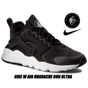 NIKE W AIR HUARACHE RUN ULTRA black/black-white 81...