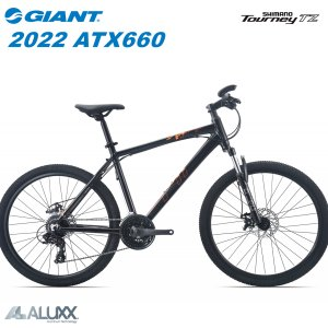 GIANT ジャイアント 2019モデル ATX 660 シマノ 24段変速 26インチ クロスバイク マウンテンバイク マットグレー&レッド