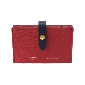 b27d8046b1d6 セリーヌカードケースaccordion card case coquelicot 104323AI525CO CELINE