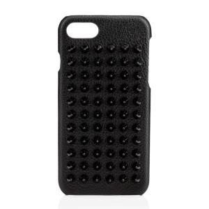 ルブタン ルビフォン iPhone7/8 ケース スタッズ レザースマホ カバー 1185124 C...