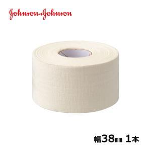 ジョンソンエンドジョンソン J&J コーチ テーピングテープ 38mm x 13.7m 1本 バラ売り ジョンソン&ジョンソン LINDSPORTS リンドスポーツ|lindsp