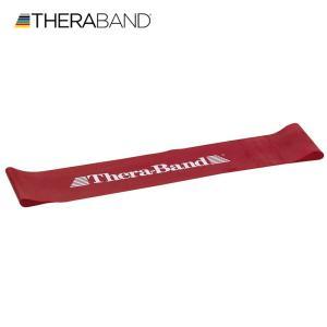 セラバンド TheraBand セラバンドループ レッド 赤 ミディアム Lサイズ 円周90cm トレーニングチューブ エクササイズバンド LINDSPORTS リンドスポーツ|lindsp