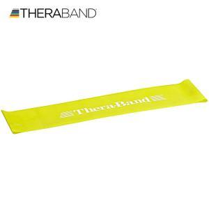 セラバンド TheraBand セラバンドループ イエロー 黄色 シン Lサイズ 円周90cm トレーニングチューブ エクササイズバンド LINDSPORTS リンドスポーツ|lindsp