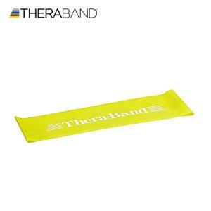 セラバンド TheraBand セラバンドループ イエロー 黄色 シン M 円周60cm トレーニングチューブ エクササイズバンド ループバンド|lindsp
