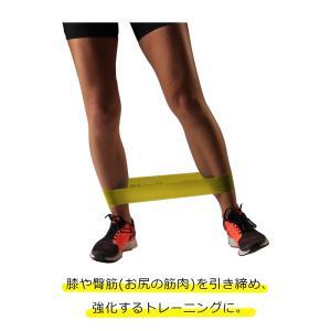 セラバンド TheraBand セラバンドループ イエロー 黄色 シン M 円周60cm トレーニングチューブ エクササイズバンド ループバンド|lindsp|02