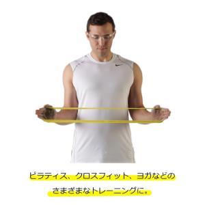 セラバンド TheraBand セラバンドループ イエロー 黄色 シン M 円周60cm トレーニングチューブ エクササイズバンド ループバンド|lindsp|03