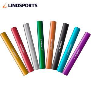 8色バトンセット 8本セット 陸上 リレー ジュラルミン製 検定なし LINDSPORTS リンドスポーツ|lindsp