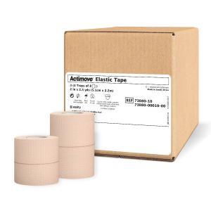 ジョンソンエンドジョンソン J&J エラスチコン 伸縮 テーピングテープ 50mm x 4.6m 24本 箱 ジョンソン&ジョンソン LINDSPORTS リンドスポーツ|lindsp