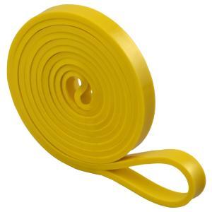黄 フィットネスバンド ループ 幅13mm 円周208cm トレーニングチューブ フィットネスチューブ エクササイズバンド LINDSPORTS リンドスポーツ lindsp