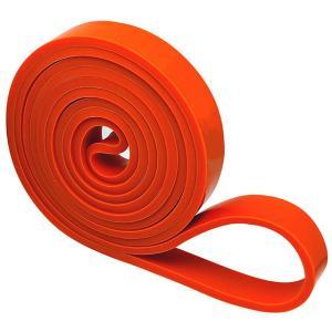 オレンジ フィットネスバンド ループ 幅19mm 円周208cm トレーニングチューブ フィットネスチューブ エクササイズバンド LINDSPORTS リンドスポーツ lindsp