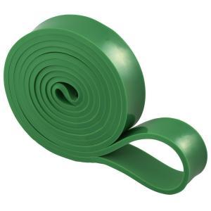 緑 フィットネスバンド ループ 幅29mm 円周208cm トレーニングチューブ フィットネスチューブ エクササイズバンド LINDSPORTS リンドスポーツ lindsp