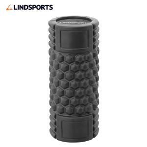 グリグリフォームローラー ストレッチ 黒 筋膜リリース LINDSPORTS リンドスポーツ lindsp