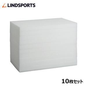 吸水スポンジ 25×40×3cm 10枚セット LINDSPORTS リンドスポーツ|lindsp