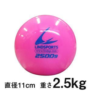 サンドウェイトボール ブルー 2.5kg 直径約11cm 手首 リスト ダンベルボール トレーニングボール LINDSPORTS リンドスポーツ|lindsp