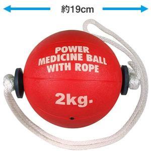 LINDSPORTS ひも付きメディシンボール 2kg|lindsp