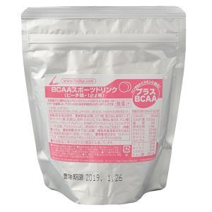 LINDSPORTS スポーツドリンク ピーチ味 (BCAA配合) 12L用×1袋スモールパック 徳用粉末 熱中症予防|lindsp