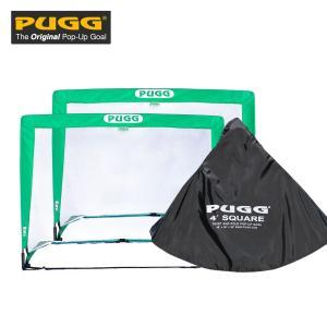 PUGG ポップアップ式 サッカーゴール 四角 2台セット LINDSPORTS リンドスポーツ|lindsp