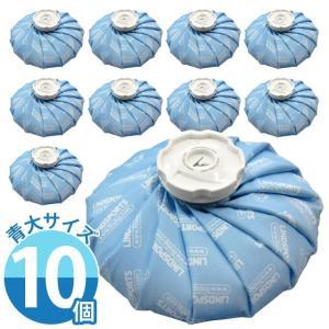 布氷のう 氷のう 青 大サイズ 直径28cm アイシング アイスバッグ 温冷兼用 ( お得な10個セット ) LINDSPORTS リンドスポーツ|lindsp