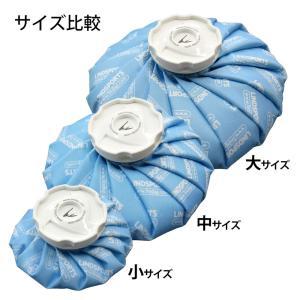 布氷のう 氷のう 青 中サイズ 直径22cm アイシング アイスバッグ 温冷兼用 LINDSPORTS リンドスポーツ|lindsp|02