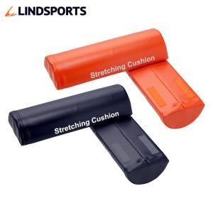 ストレッチングクッション ハーフ 2本セット 長さ41cm 半円柱 かまぼこ型 ストレッチ用ポール ヨガポール LINDSPORTS リンドスポーツ|lindsp