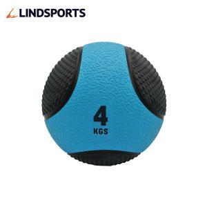 メディシンボール ひもなし 4kg トレーニングボール ウエイトボール LINDSPORTS リンドスポーツ|lindsp