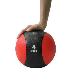 メディシンボール ひもなし 4kg トレーニングボール ウエイトボール LINDSPORTS リンドスポーツ|lindsp|02