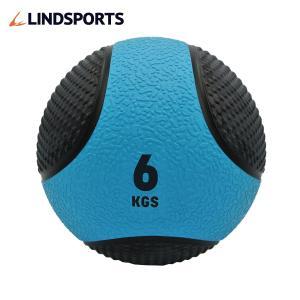 メディシンボール ひもなし 6kg トレーニングボール ウエイトボール LINDSPORTS リンドスポーツ|lindsp