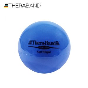 セラバンド TheraBand ソフトウェイト ボール 青 2.5kg 直径約11cm トレーニングボール LINDSPORTS リンドスポーツ|lindsp