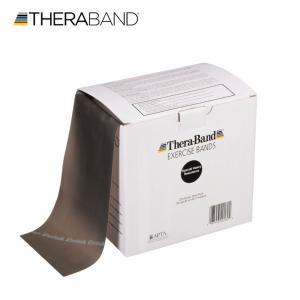セラバンド TheraBand 黒 ブラック スペシャルヘビー トレーニングチューブ バンドタイプ 50ヤード 合計45.7m 徳用サイズ LINDSPORTS リンドスポーツ|lindsp