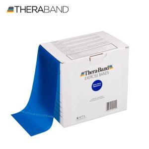 セラバンド TheraBand 青 ブルー エクストラヘビー トレーニングチューブ バンドタイプ 50ヤード 合計45.7m 徳用サイズ LINDSPORTS リンドスポーツ|lindsp