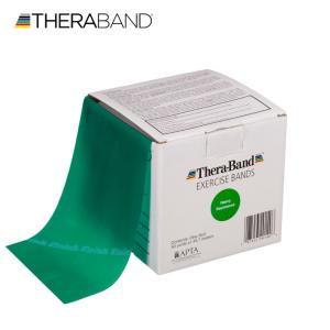 セラバンド TheraBand 緑 グリーン ヘビー トレーニングチューブ バンドタイプ 50ヤード 合計45.7m 徳用サイズ LINDSPORTS リンドスポーツ|lindsp