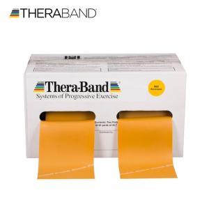 セラバンド TheraBand 金 ゴールド マックス トレーニングチューブ リハビリバンド 50ヤード 合計45.7m 徳用サイズ lindsp