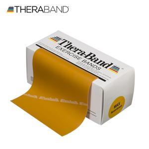 セラバンド TheraBand 金 ゴールド マックス トレーニングチューブ バンドタイプ 標準サイズ 合計5.5m 6ヤード LINDSPORTS リンドスポーツ|lindsp