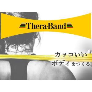 セラバンド TheraBand 赤 レッド ミディアム トレーニングチューブ バンドタイプ 標準サイズ 合計5.5m 6ヤード LINDSPORTS リンドスポーツ lindsp 02
